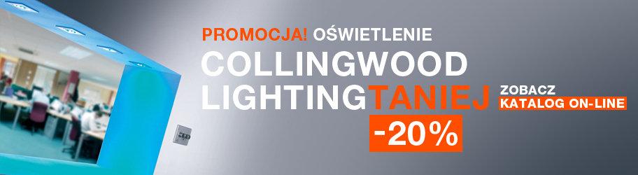 PROMOCJA! Oświetlenie Collingwood Lighting teraz taniej o 20%!